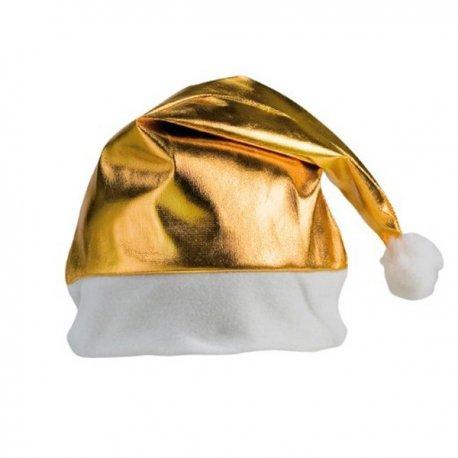 Cappello di Natale Dorato