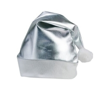 Cappello di Natale Argentato