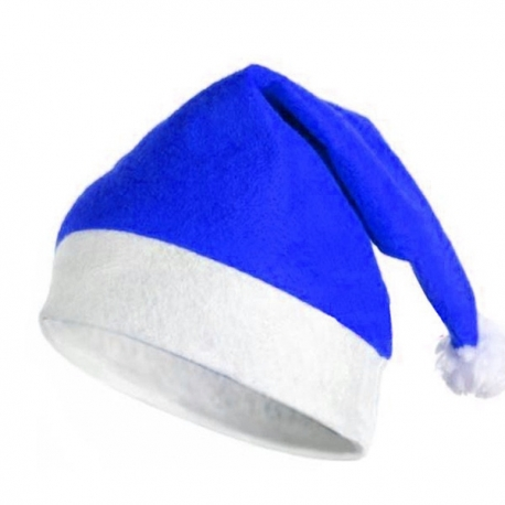 Cappello di Natale Blu
