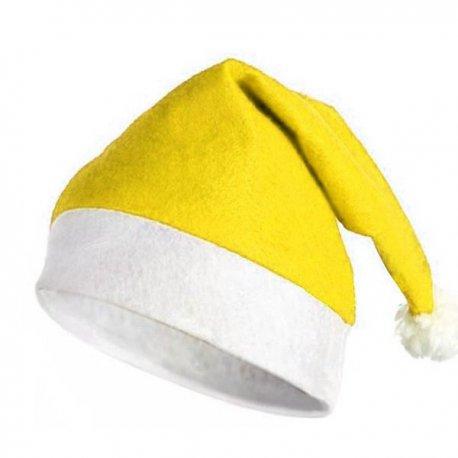 Cappello di Natale Giallo