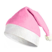 Cappello di Natale Rosa